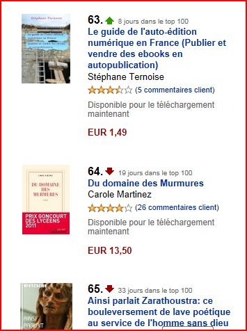 photo 8 eme jour dans le top 100