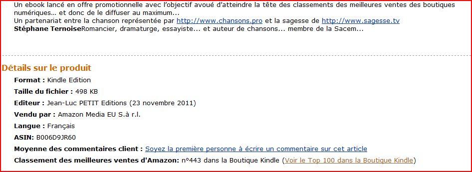photo roman de Ternoise une sortie ebook fin novembre qui promet