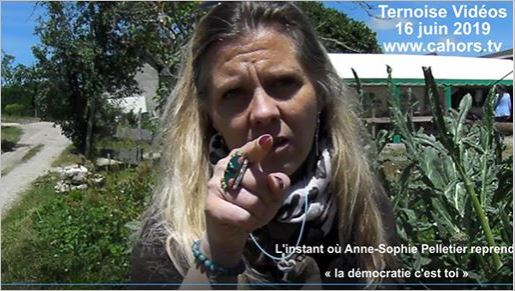 photo Anne-Sophie Pelletier la démocratie c est toi