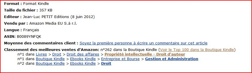 photo Sur Amazon Kindle 262eme Écrivains réveillez-vous