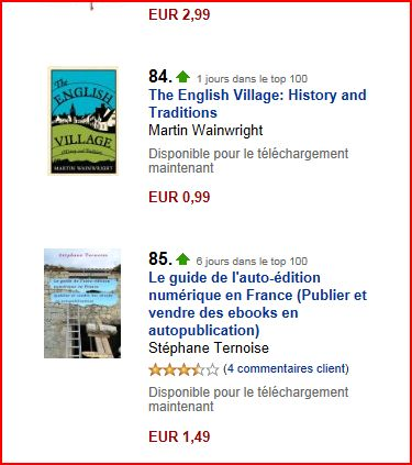 photo top 100 kindle boutique en 2011