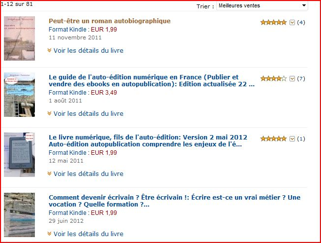 photo meilleures ventes sur Amazon